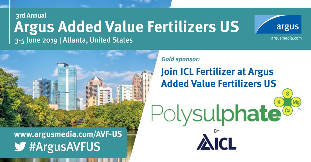 ICL Sponsored Argus Added Value Fertilizers US, Atlanta