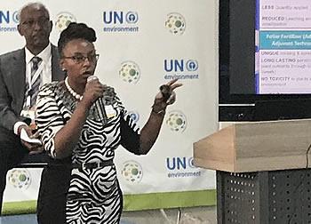 Dr. Lilian Wanjiru Mbuthia, ICL Agronomist